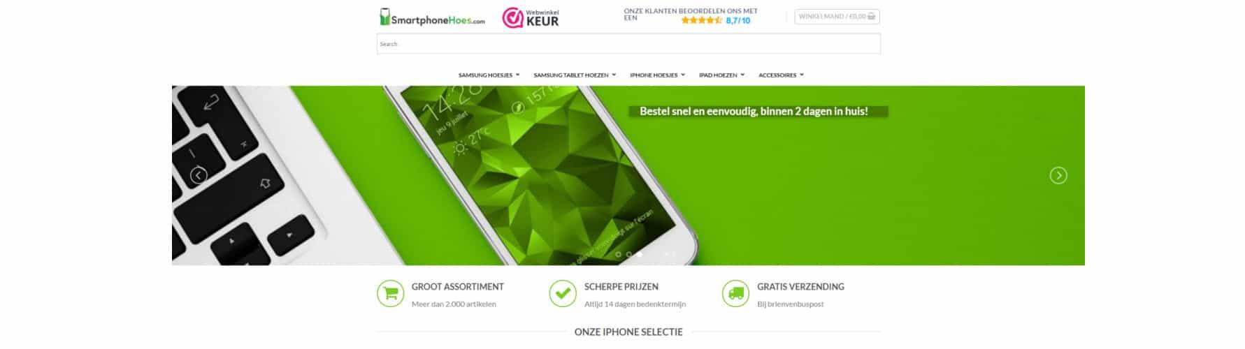 Referentie Smartphonehoes
